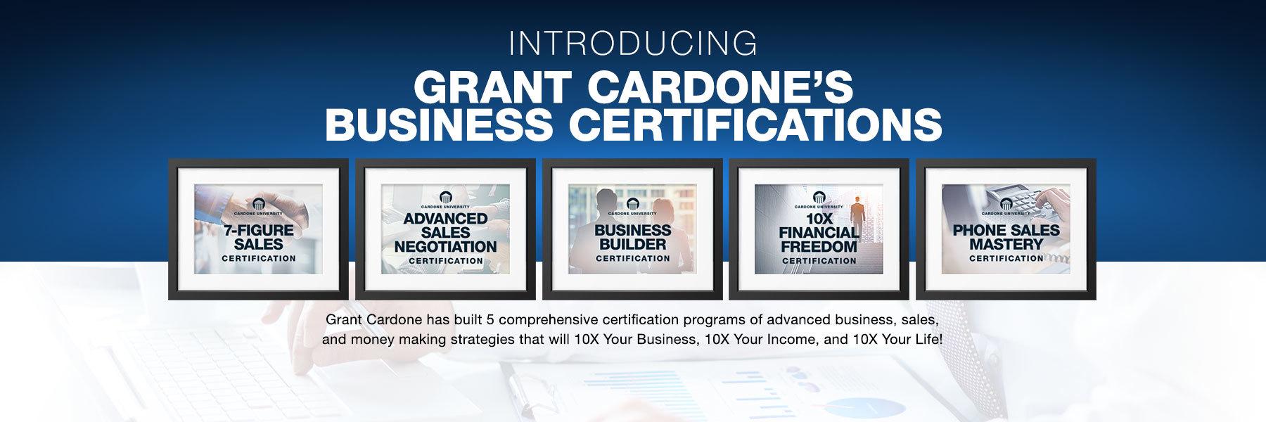 Master Certifications Programs